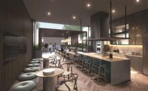 Chef 39 s Kitchen at Azura Condos 11 v48 300x185 - Azura Condos Intersection Yonge St & Holmes Ave