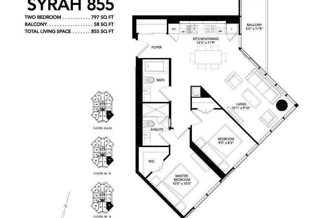C4466170 20 1050x738 - SALE-LUXURY 2 BEDROOM CONDO-DOWNTOWN