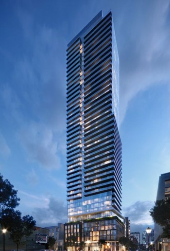 The saint condos by minto